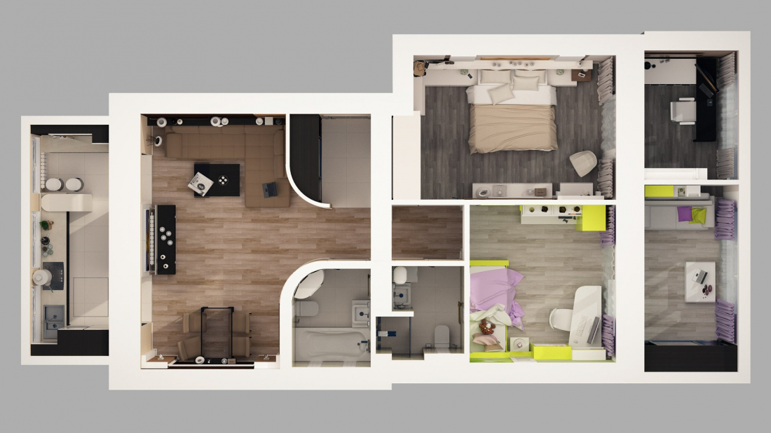 Как самостоятельно сделать дизайн-проект квартиры